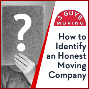 How to Identify an Honest Moving Company