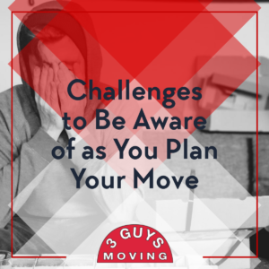 Challenges to Be Aware of As You Plan Your Move