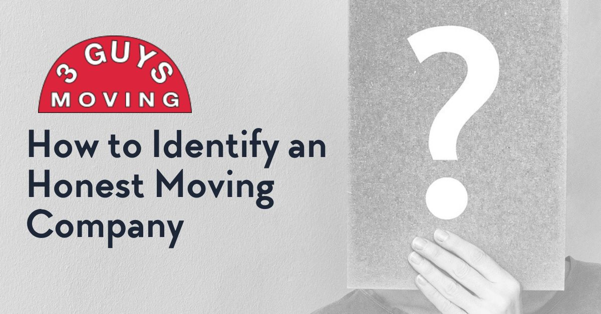 Honest Moving Company - How to Identify an Honest Moving Company