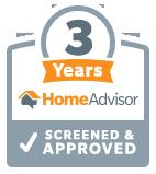 HomeAdvisor 3 Years