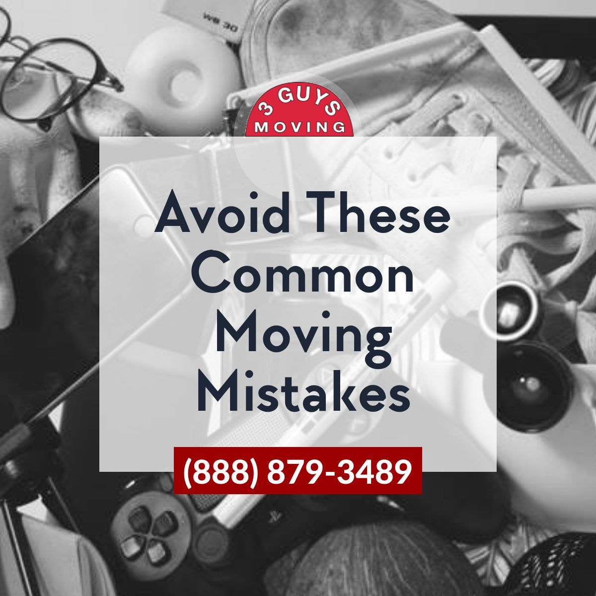 Common Moving Mistakes - Avoid These Common Moving Mistakes