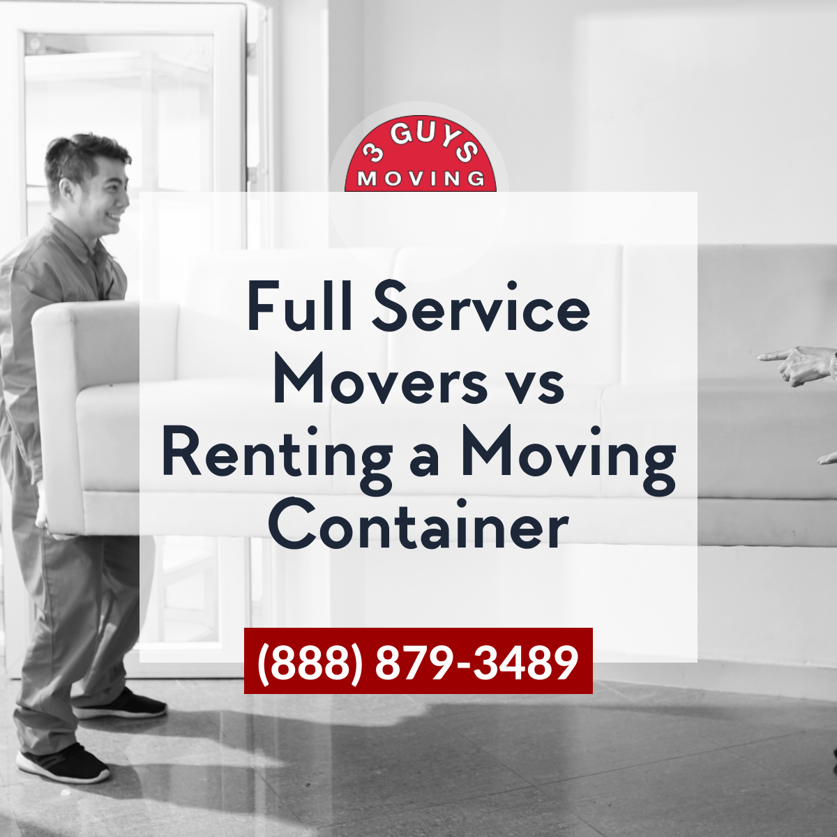 Full Service Movers vs Renting a Moving Container - Full Service Movers vs Renting a Moving Container