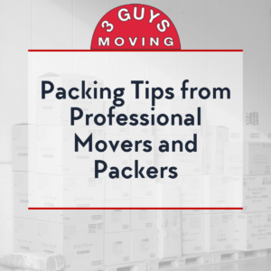 Packing Tips from Professional Movers and Packers