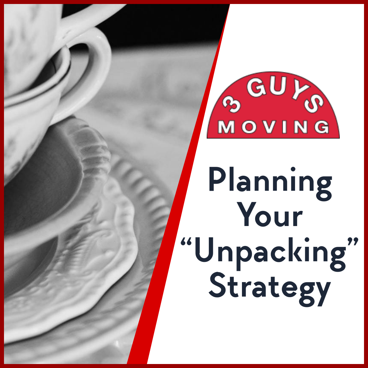 """Planning Your Unpacking Strategy - Planning Your """"Unpacking"""" Strategy"""