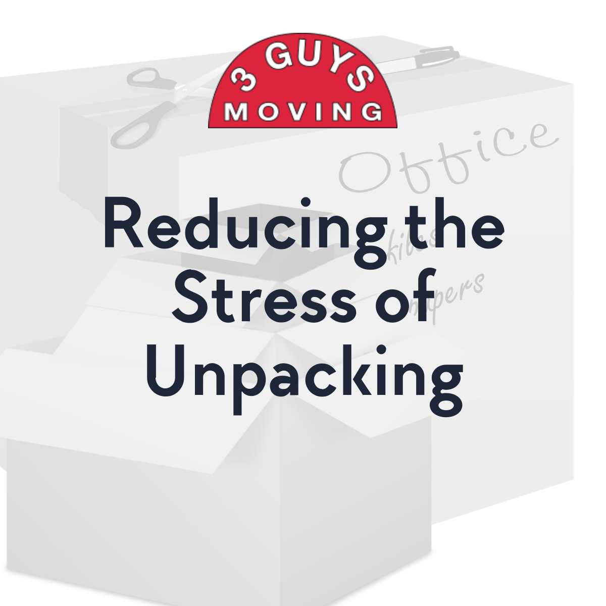 Reducing the Stress of Unpacking - Reducing the Stress of Unpacking
