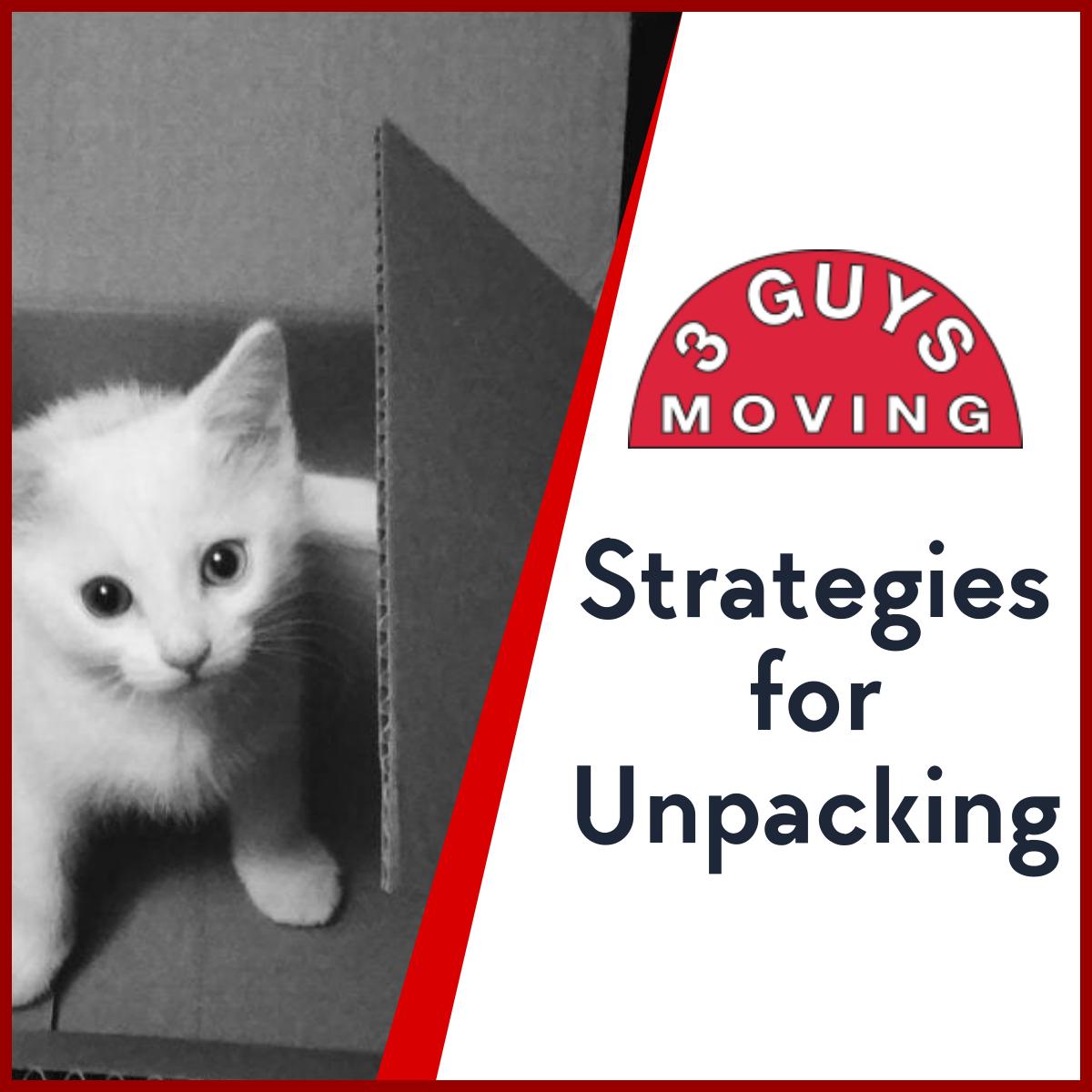 Strategies for Unpacking - Strategies for Unpacking