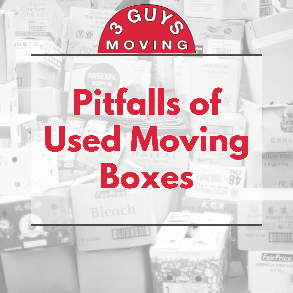 Pitfalls of Used Moving Boxes - Pitfalls of Used Moving Boxes
