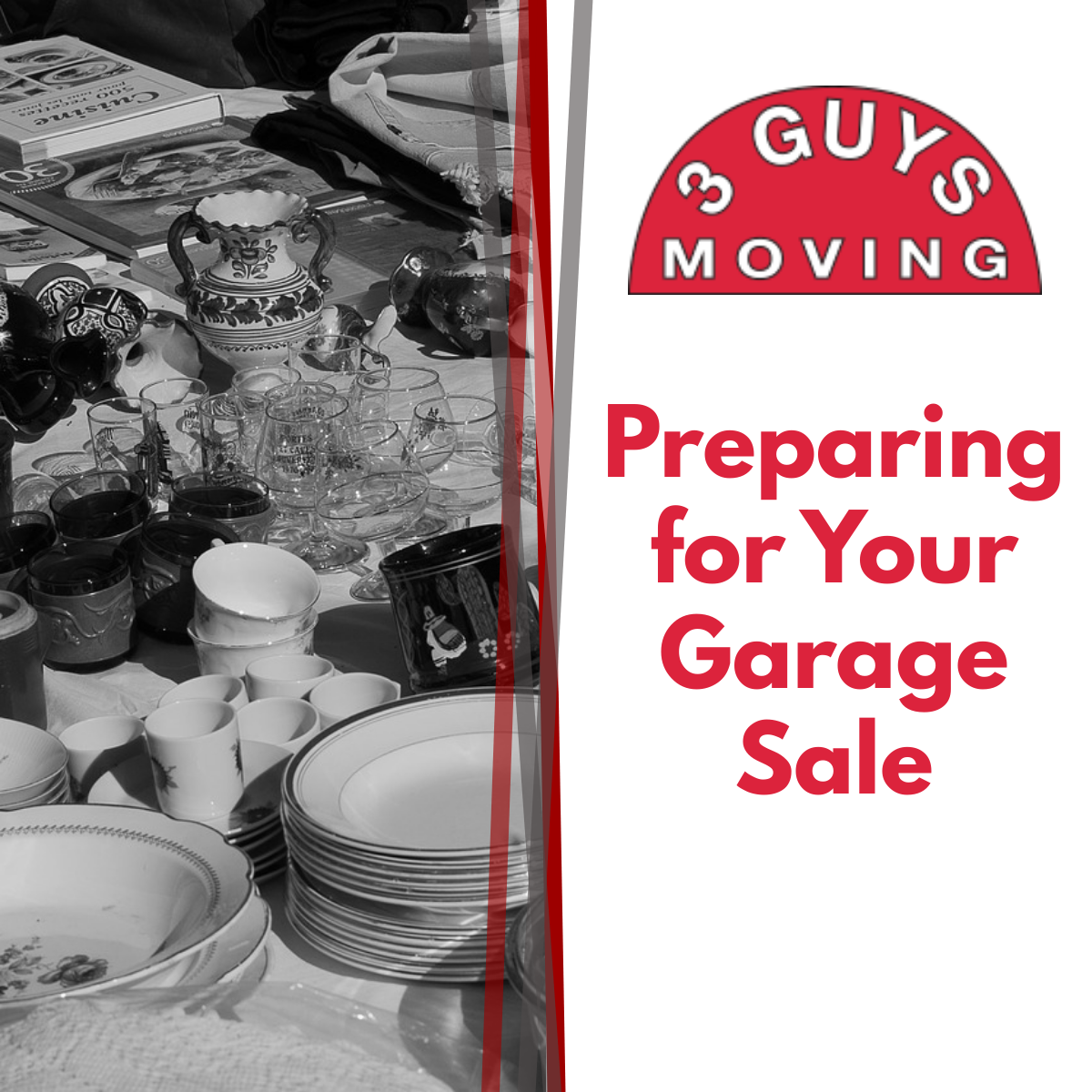 Preparing for Your Garage Sale - Preparing for Your Garage Sale