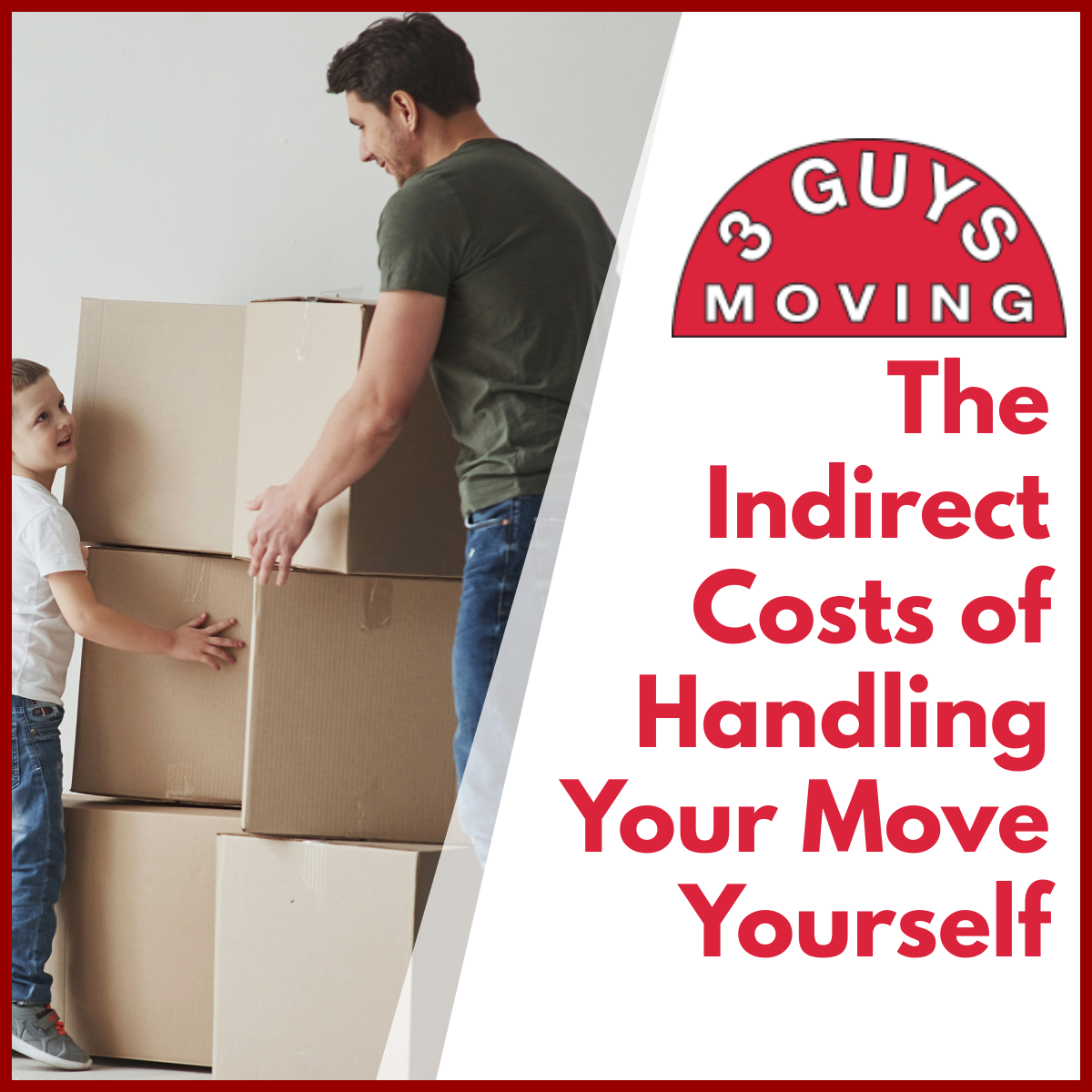 Indirect Costs of Handling Your Move Yourself - The Indirect Costs of Handling Your Move Yourself